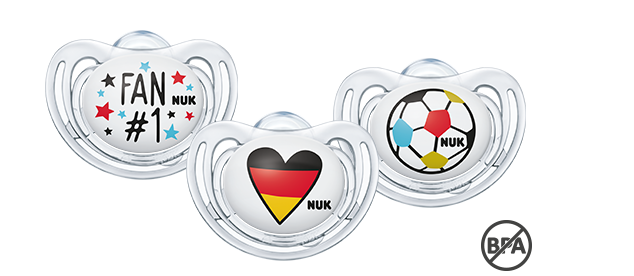 NUK Freestyle Schnuller Fußball-Edition