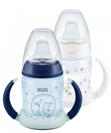 NUK First Choice Trinklernflaschen Duo Set Night & Day