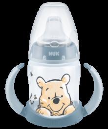 NUK Disney Winnie Puuh First Choice Trinklernflasche 150ml mit Trinktülle