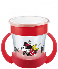 NUK Disney Mickey Mouse Mini Magic Cup 160ml mit Trinkrand und Deckel