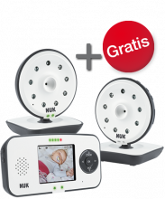 NUK Eco Control Video Display 550VD + extra Kamera im Set