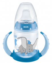 NUK Disney Classics First Choice Trinklernflasche 150ml mit Temperature Control