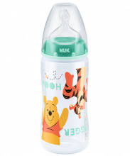 NUK First Choice Plus Disney Winnie the Pooh Babyflasche 300ml mit Trinksauger