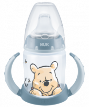 NUK Disney Winnie Puuh First Choice Trinklernflasche 150ml mit Trinktülle