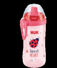 NUK Flexi Cup 300ml mit Trinkhalm