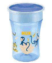NUK Magic Cup 230ml mit Trinkrand und Deckel