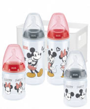 NUK Disney Mickey Mouse First Choice Plus Starter Set mit Temperature Control