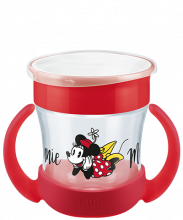 NUK Disney Mickey Mouse Mini Magic Cup 160ml mit Trinkrand und Deckel