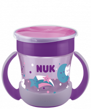 NUK Mini Magic Cup Night 160ml mit Trinkrand und Deckel