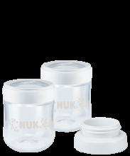NUK Nature Sense Muttermilchbehälter mit Milchpumpen-Adapter