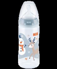NUK Snow First Choice Plus Babyflasche 300ml mit Trinksauger