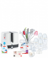 NUK Starter Set Hygiene mit Temperature Control