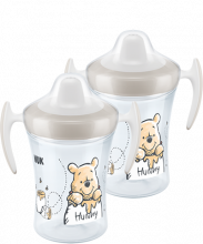 NUK Disney Winnie Puuh Trainer Cup Duo Set