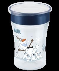 NUK Disney Frozen Magic Cup mit Trinkrand und Deckel 230ml