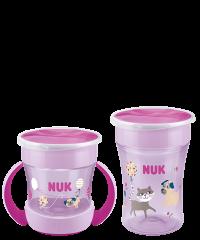 NUK Magic Cup Duo Set