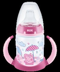 NUK Peppa Pig First Choice Trinklernflasche 150ml mit Temperature Control