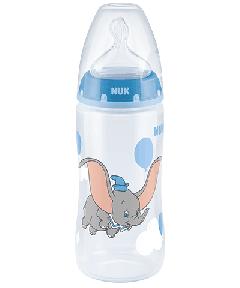 NUK Disney Classics First Choice Plus Babyflasche 300ml mit Trinksauger