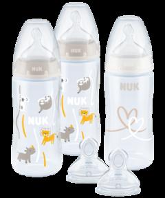 NUK First Choice Plus 3 plus 2 Set mit Temperature Control