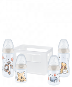 NUK Disney Winnie Puuh First Choice Plus Starter Set mit Temperature Control
