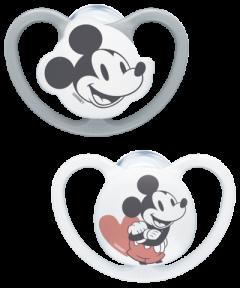 NUK Disney Mickey Mouse Space Silikon-Schnuller