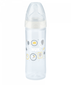 NUK New Classic Babyflasche mit Trinksauger